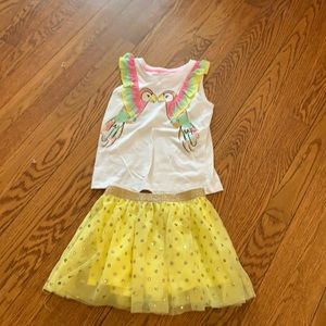 Parrot outfit size 4t